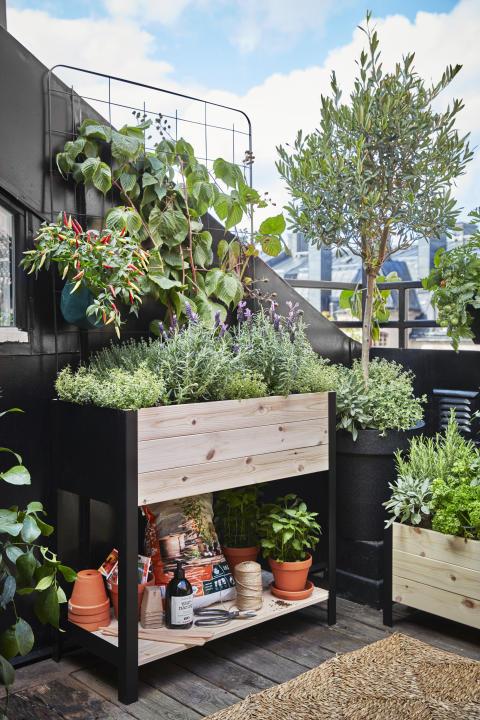 Cultura planteringslåda Plantagen Hög