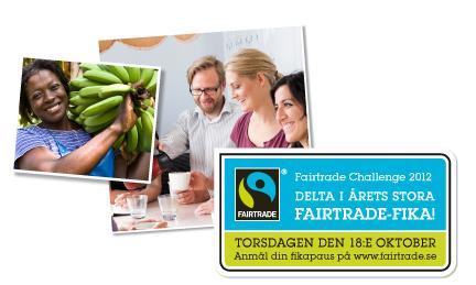 Ekumeniska centret fikar och morots-mobbar i årets Fairtrade Challenge