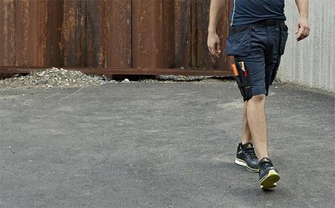 Snickers Workwear lanserer nye arbeidsshorts med løs passform og stretch
