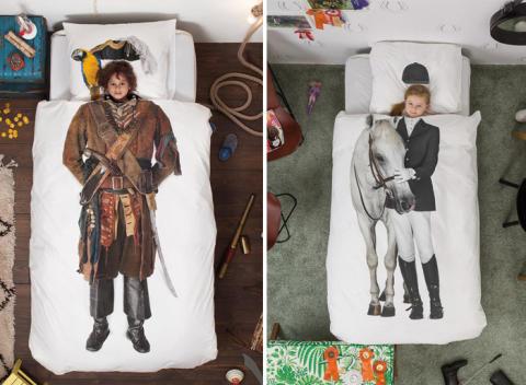 Nya roliga fototryck på sängkläder från Snurk