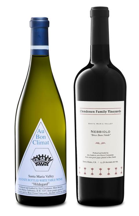 Två unika och spännande tillskott i Systembolagets beställningssortiment från den legendariske vinmakaren Jim Clendenen på Au Bon Climat, Kalifornien.