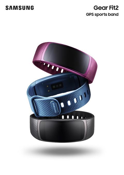 Samsung tilbyder nu frihed og motivation til træningen med lanceringen af Gear Fit 2 og Gear IconX