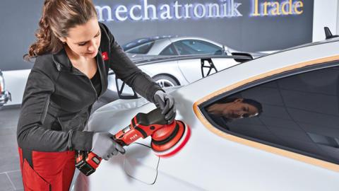 FLEX batteridrivna polermaskiner ger maximal frihet