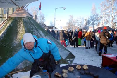 37 000 kom till Jokkmokks vintermarknad