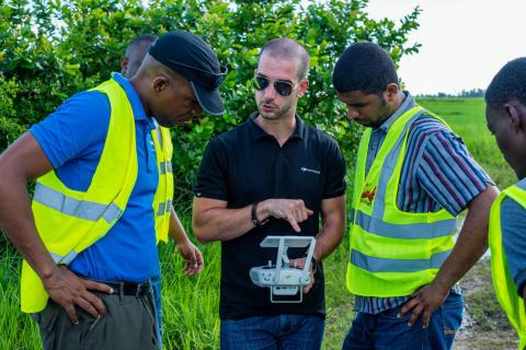 DJI Agras MG1-S Spray Drone training 3