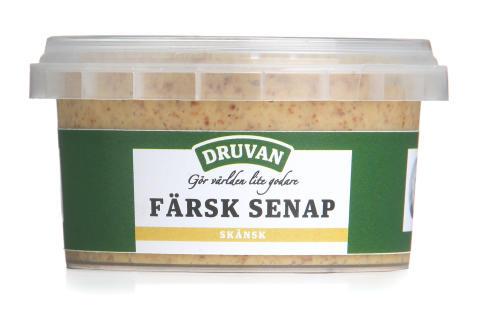 Druvan Färsk Skånsk Senap