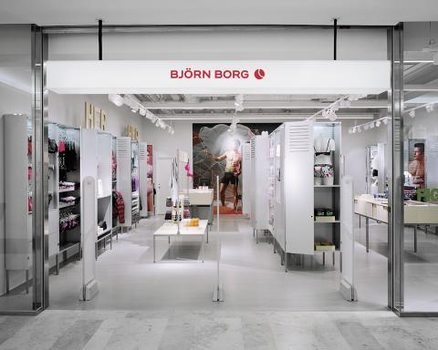 Björn Borg butik i Täby Centrum
