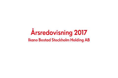 Ikano Bostad Stockholm Holding AB (publ) Årsredovisning 2017
