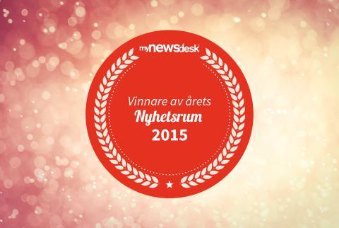Goodyear vinnare av Årets Nyhetsrum 2015