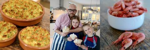 Slik får han barna til å elske sjømat - alenepappa avslører sine triks