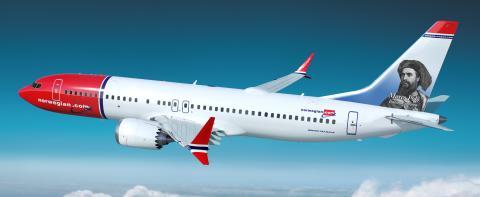 Norwegian rende omaggio a Marco Polo: da settembre la sua foto decorerà la coda di un Boeing 737 MAX 8