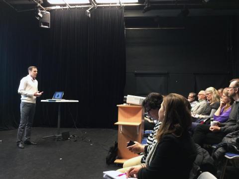Inrego höll föreläsning om cirkulär ekonomi i Lund