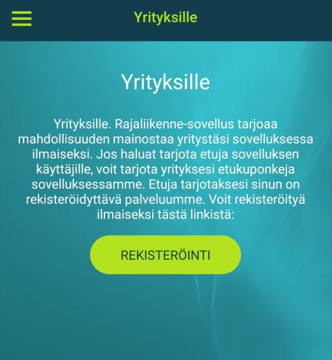 eBORDER PARANTAA RAJAYLITTÄJÄN MATKUSTAJAKOKEMUSTA JA TUO EUROJA YRITYKSILLE