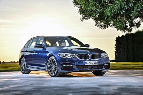 Nye BMW 5-serie Touring: Kjøreglede i stasjonsvognform