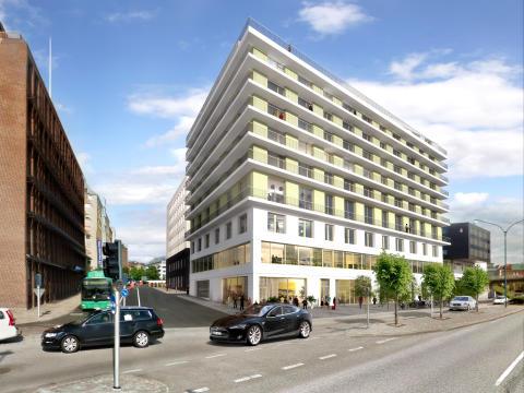 Midroc säljer fastigheterna Scala i Helsingborg till Executive Property