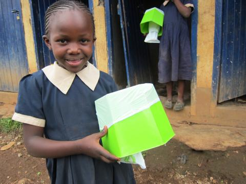 Today it's the World Toilet Day - Highlights from the Peepoo School Project in Kibera, Nairobi