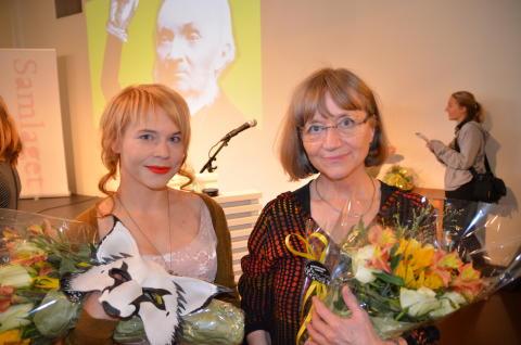 Erica Löfström og Rakel Solstad