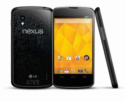 Premiär för Nexus 4 - första mobilen med Android 4.2