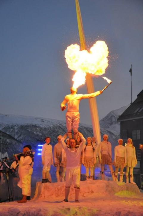 PAN Productions - creating magical moments at the Arctic Frontiers Opening Ceremony