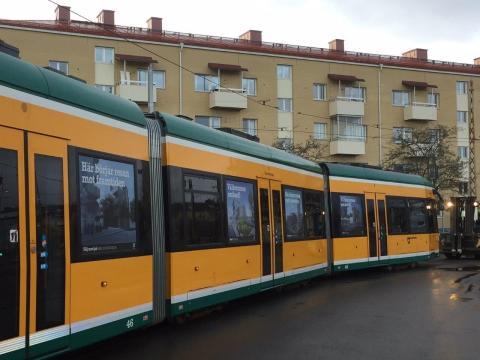 Ta spårvagnen till framtidens Norrköping