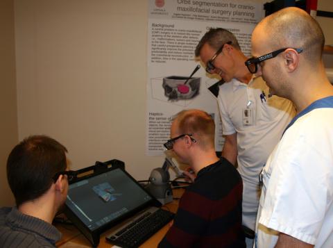 Virtuell operationsplanering i 3D ökar precisionen vid käkrekonstruktion