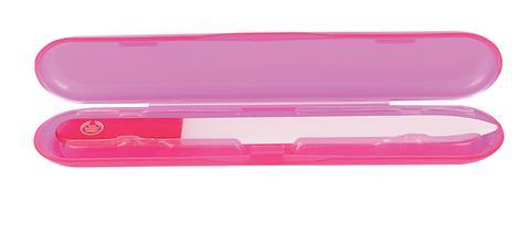 Glass Nail Filer med skyddande behållare