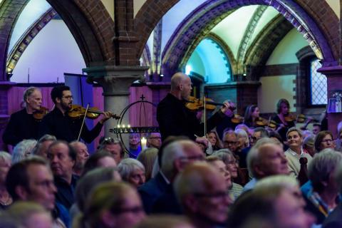 Håkon Kornstad Trio & Det Norske Kammerorkester, Oslo Jazzfestival