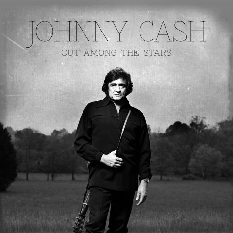 "Albumomslag - Johnny Cash ""Out Among The Stars"""