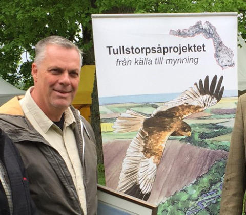 Grattis Johnny Carlsson - årets våtmarksstipendiat