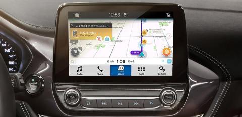 Ford i samarbejde med trafik- og navigationsappen Waze