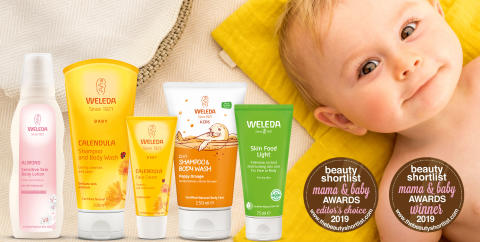 Prisregn över Weleda i den internationella tävlingen The Beauty Shortlist Awards 2019