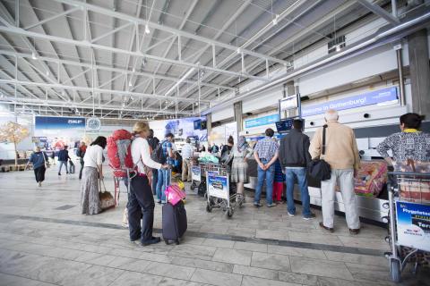 Ankomsthallen Göteborg Landvetter Airport