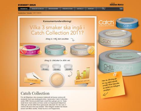 Konsumenterna bestämmer nästa års smaker på Catch Collection