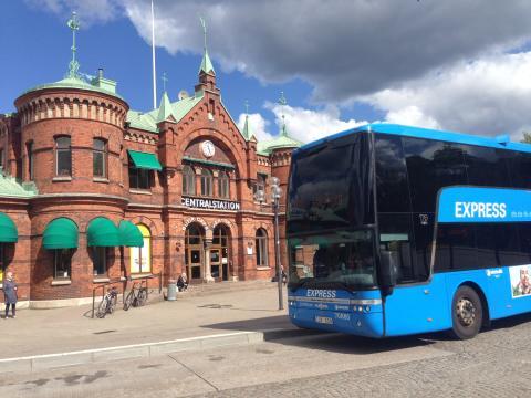 Nytt läge för buss 100 ökar säkerheten för alla