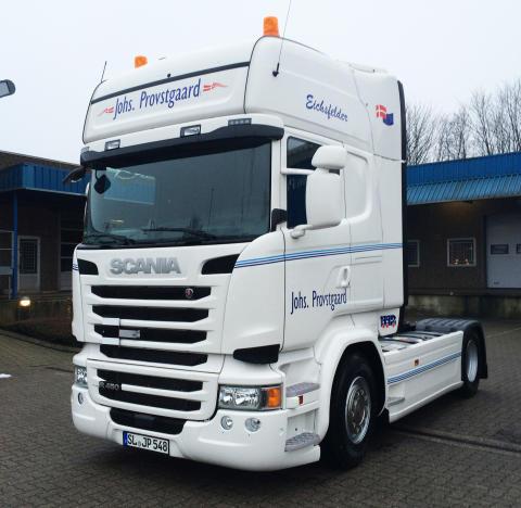 Ny Ecolution by Scania-lastbil til Johs. Provstgaard