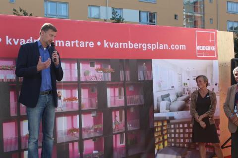 Drömplank Kvarnbergsplan - Daniel Dronjak Nordqvist, Kommunstyrelsens ordförande