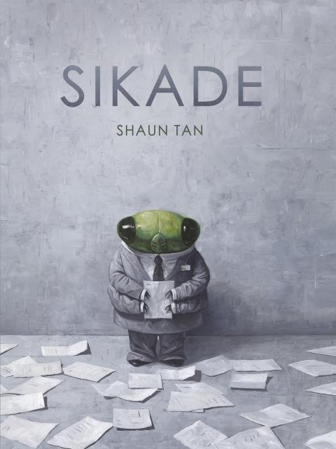 Shaun Tan, bildebokskaper i verdensklasse, med ny bok: SIKADE