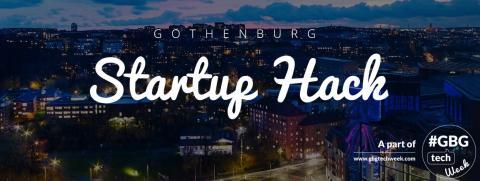 Gothenburg Startup Hack sår för framtidens framgångssagor