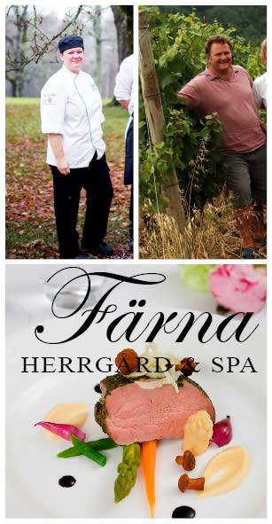 Gourmetmiddag och vinupplevelse på Färna herrgård & Spa den 12 februari