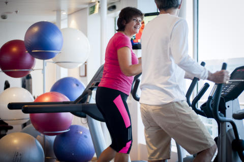 Staying fit and healthy on your cruise