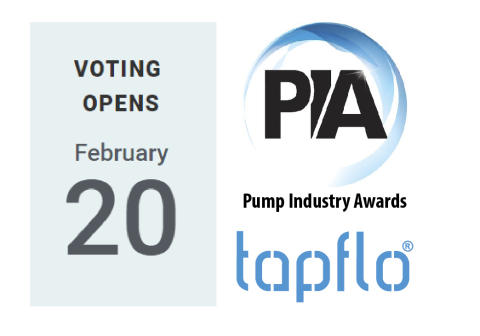 Tapflo within finalists of The Pump Industry Awards