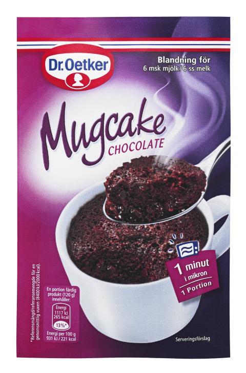 Mugcake chocolate