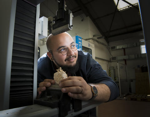 Global award for engineer with vegan vision
