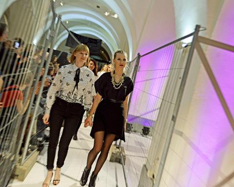 Stockholms tillskärarakademi bjuder på modevisning och utställning
