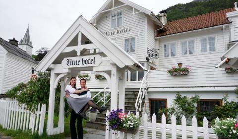 Старинный отель Utne