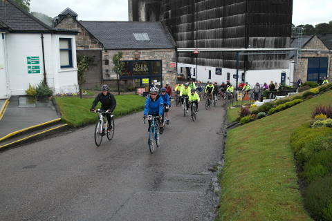 Glen Moray cycle ride