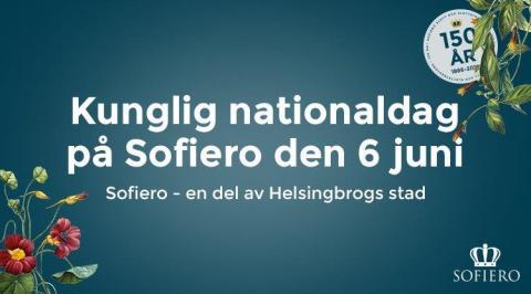 Kungligt nationaldagsfirande när Sofiero i Helsingborg firar 150 år