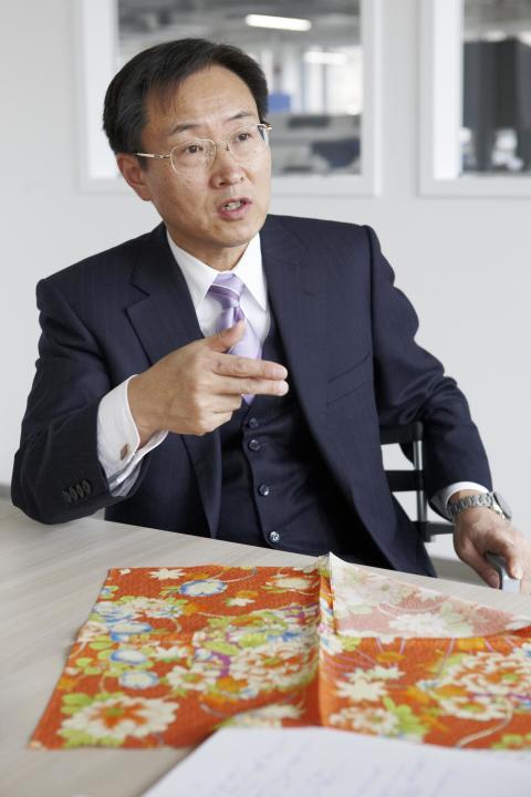 Epson President Mr. Usui
