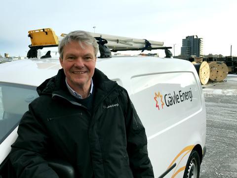 Gävle Energi - första energibolag med helt fossilfria transporter