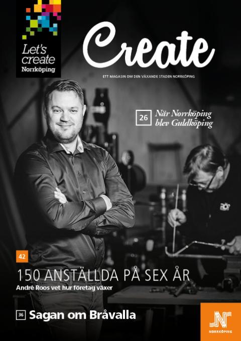 Pressinbjudan: Lansering av Create – magasinet om ett växande Norrköping